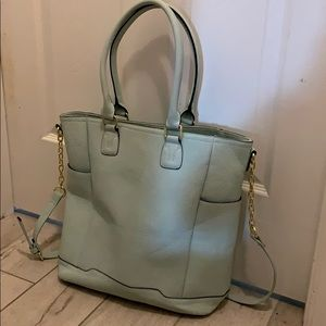 Powder Blue Office Tote Bag